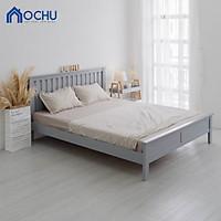 Giường Ngủ Gỗ Thông OCHU - Bernie Bed - Grey