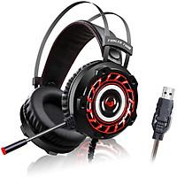 Tai nghe Gaming FUHLER FH08 LED âm thanh 7.1 - Hàng chính hãng