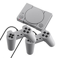 PS1 Mini Game Console Two Game Controllers AV Video Output Built-in 620 Retro Games Support Two Players