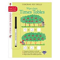 Usborne Usborne Key Skills Wipe-clean Times Tables 5-6