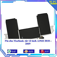 Pin cho Macbook Air 13 inch A1932 2018 2019 - Hàng Nhập Khẩu