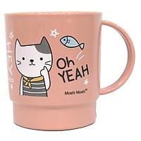 Ca Nước 343 Moshi Moshi - Hình Mèo - Màu Hồng