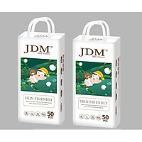 Combo 2 bịch tã/bỉm quần cao cấp JDM size M L XL XXL
