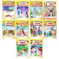 Bộ Sách Truyện Cổ Tích Chọn Lọc (Việt-Anh) - Bộ 10 Cuốn