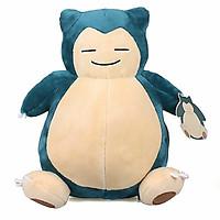 Thú bông Pokemon ham ngủ Kabigon Snorlax 28cm hàng Hàn Quốc