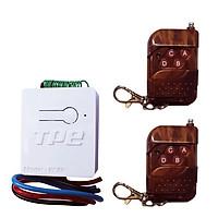 Bộ công tắc điều khiển từ xa TPE RC5H + 2 remote 4 nút, điện áp 12V, Công suất 4A