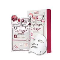 Hộp 10 mặt nạ chống lão hóa - trẻ hóa da 3 bước Rainbow L'affair Collagen 280ml