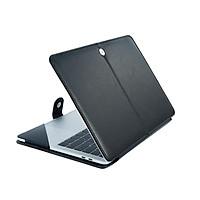 Laptop Chất Liệu Da PU Cao Cấp Túi Cho 2020 A2337 A2338 Mới Apple Macbook Air Pro Retina Thanh Cảm Ứng 11 12 13 15 16 Inch A1370 A1502 A2251