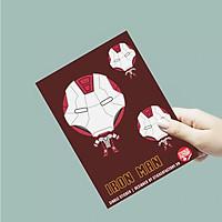 Người Sắt - Single Sticker hình dán lẻ
