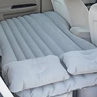 Đệm, giường hơi trên ô tô, xe hơi kèm gối + tặng kèm bơm ( giao màu ngẫu nhiên )