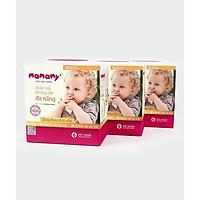 Combo 3 Khăn khô đa năng Mamamy, dùng thay khăn sữa, không chứa huỳnh quang, hộp 180 tờ, an toàn cho trẻ sơ sinh