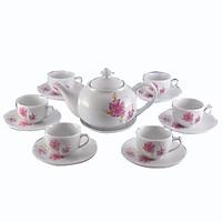Bộ ấm tách -  Bộ trà bầu Tỷ muội -  Bộ ấm tách 500 ml -  Sử dụng gia đình