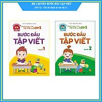 Bộ 2 cuốn Bước đầu tập viết - Hành trang cho bé tự tin vào lớp 1