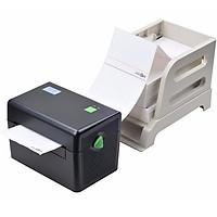 Máy in đơn hàng trên các sàn thương mại Xprinter XP-TD108D màu đen - Hàng nhập khẩu