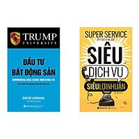 Combo Sách Kỹ Năng Đầu Tư: Đầu Tư Bất Động Sản + Siêu Dịch Vụ, Siêu Lợi Nhuận