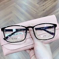 gọng kính nhựa dẻo loại 1, siêu bền dáng vuông dành cho nữ, mã 8815 loại đẹp thời trang