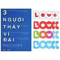 Ba Người Thầy Vĩ Đại (Tặng Kèm Bộ Bookmark TiKi Love Books)