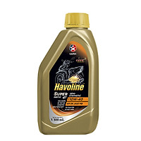 Dầu nhớt bán tổng hợp xe tay ga Caltex Havoline SuperMatic 4T Semi-Synthetic 10W40-0,8L