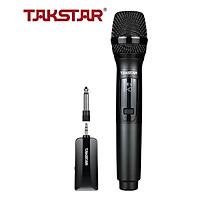 Mic không dây TS-K201 Takstar [Hàng chính hãng] - Micro Karaoke - sân khấu không dây đa năng Takstar