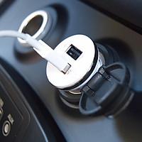 Sạc điện thoại 2 ổ cáp Micro USB trên ô tô SJ Korea DL-506