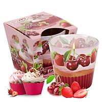 Ly nến thơm tinh dầu Bartek Fruit Muffins 115g QT00665 - bánh muffin trái cây (giao mẫu ngẫu nhiên)