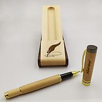 Bộ bút gỗ cao cấp tặng Thầy Cô_mẫu 03