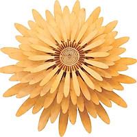 Đèn gỗ treo tường, thả trần hoa cúc HT594