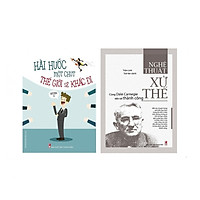 Combo Sách Kỹ Năng Hài Hước Một Chút Thế Giới Sẽ Khác Đi + Nghệ Thuật Xử Thế - Cùng Dale Carnegie Tiến Tới Thành Công