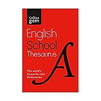 Collins Gem English School Thesaurus 5Ed.