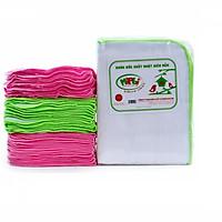 Túi 10 chiếc khăn xô 2 lớp Mipbi 28x36cm