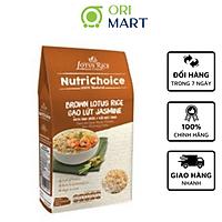 Gạo Lứt Nâu & Hạt Chia Hữu Cơ NutriChoice Cao Cấp  Gói 500G