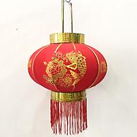 Đèn lồng đỏ Cá Chép đường kính 50cm Vạn Sự Như ý Trang trí Tết (năm mới)