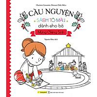 Sách Tô Màu Dành Cho Bé Mừng Giáng Sinh