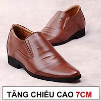 Giày Tăng Chiều Cao Nam Cao Ẩn 7cm Kín Đáo Bí Mật Từ Bên Trong Bảo Hành Nổ Da 2 Năm Mã TC126