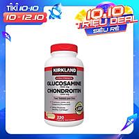 Thực phẩm chức năng Kirkland Viên uống bổ sung Glucosamine 1500mg & Chondroitin 1200mg (220 Viên)