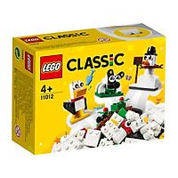 Đồ Chơi LEGO CLASSIC Hộp Lắp Ráp Sáng Tạo Màu Trắng 11012