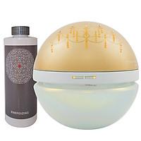 Máy Lọc Không Khí Antibac2K- Nhật Bản, Magic Ball Chandelier Gold, Khử mùi, kháng khuẩn, diệt virus, loại trừ bụi siêu mịn PM2.5, tạo độ ẩm, mang hương thiên nhiên nhẹ nhàng- HÀNG CHÍNH HÃNG