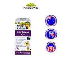 Siro Uống Nature's Way Kids Smart Infant Drops VD3 Bổ Sung Vitamin D Cho Bé Phát Triển Tốt 10ml