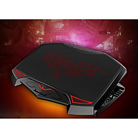 ️ Đế Tản Nhiệt Cho Máy Tính Laptop - Macbook Nuoxi 3 Quạt, Chạy Êm Làm Mát Laptop, Độ Đèn Led Gaming.