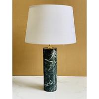 Đèn bàn đế đá cao cấp chất liệu tư nhiên Chao vải thiết kế màu sắc sang trọng DB06
