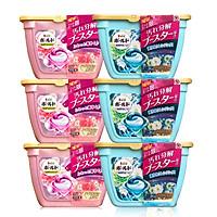 Thùng MIX 6 hộp Viên giặt xả P&G BOLD Lip Happiness (3 hồng + 3 xanh)