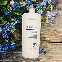 Dầu gội L'oreal Serioxyl GlucoBoost Natural Noticeably Thinning hair shampoo cho tóc thưa mảnh rụng Step 1 1000ml