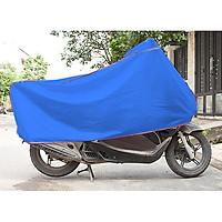 Bạt phủ xe máy-TVS-Xanh dương-Siêu Bền-Cực Tốt