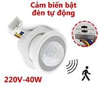 [TÙY CHỈNH ĐỘ NHẠY SÁNG ĐỘ TRỄ] Bộ công tắc cảm biến chuyển động DC1 công tắc cảm biến chuyển động tự động bật đèn