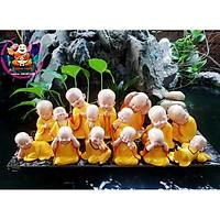 Bộ 15 gia đình chú tiểu-Màu vàng