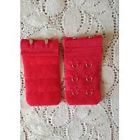 Combo 2 miếng nối áo ngực bản 2 móc - đỏ tươi