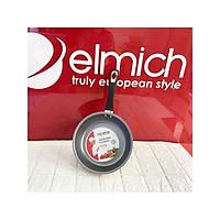 Chảo chống dính đáy từ Elmich EL- 3830 size 20cm, Màu sắc: Sơn ngoài màu vàng nhạt, Kiểu dáng: Chảo thành cao, loe miệng, Kích thước (Đường kính x Chiều cao): 20 x 5.8 cm, Chất liệu: Nhôm nguyên chất