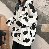 Áo hoodie nam nữ bò sữa hot