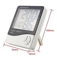 Nhiệt kế đo nhiệt độ , độ ẩm không khí trong phòng HTC-1
