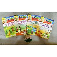 Combo 4 cuốn Truyện cổ tích Việt Nam - Cóc kiện trời, Sự tích cây khế, Bánh chưng bánh dày, Sự tích tràu cau